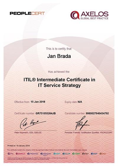 ITIL Intermediate Certificate in IT Service Strategy