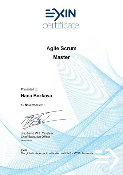 EXIN Agile Scrum Master