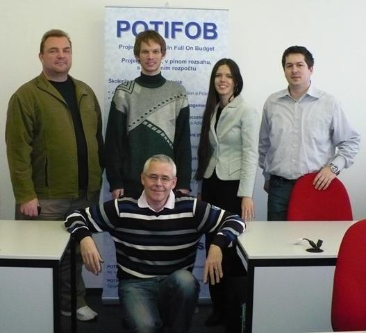 Absolventi prvého certifikačného kurzu MSP Practitioner v strednej a východnej Európe