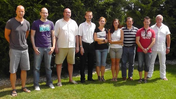 PRINCE2 Foundation + Practitioner účastníci a tréner