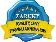 Záruka kvality, termínu, najlepšej ceny a udržania know-how