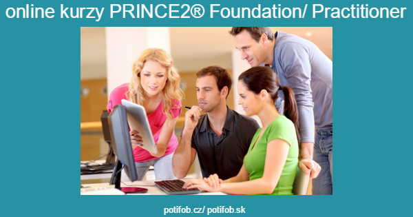 online kurzy PRINCE2® Foundation/ Practitioner