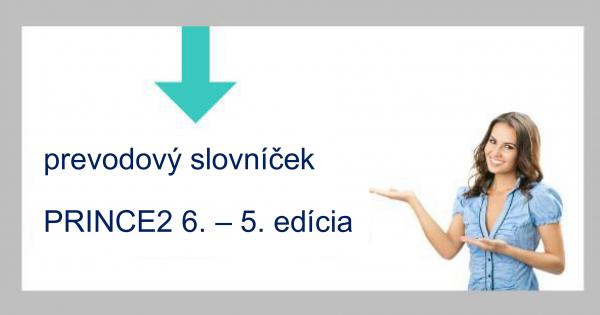 Prevodový slovníček PRINCE2® 6-5. edícia ZDARMA