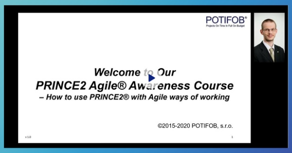 ZDARMA minikurz PRINCE2 Agile Awareness